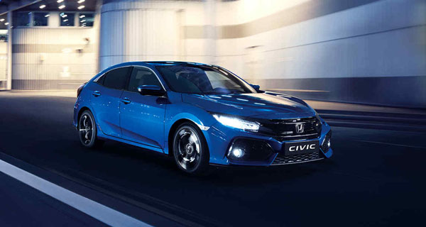 Honda Civic 5 drs. Hatchback 1.0 S